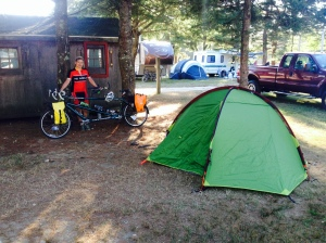 Portsmouth campsite
